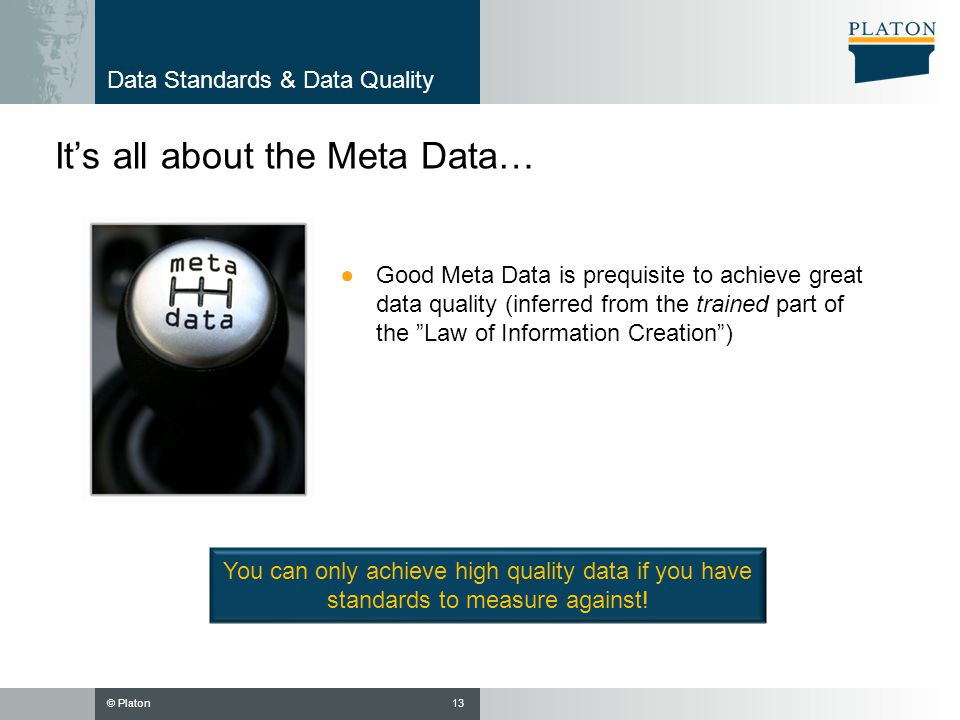 Data Standards & Data Quality