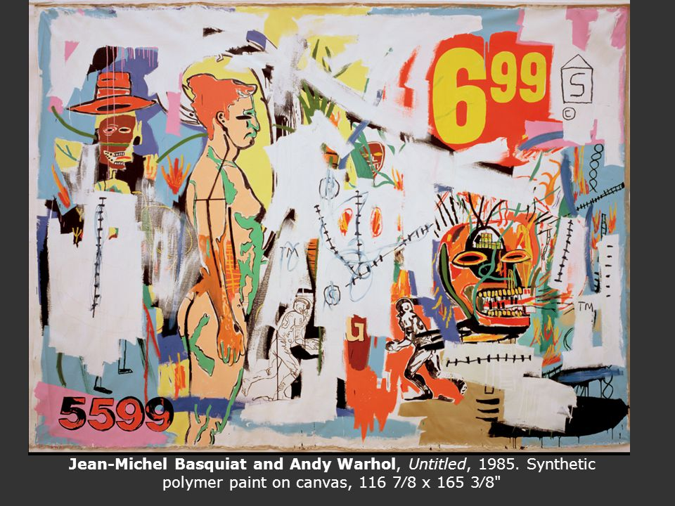 Jean-Michel Basquiat and Andy Warhol, Untitled, 1985