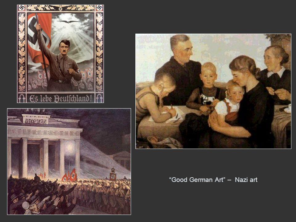 Good German Art – Nazi art