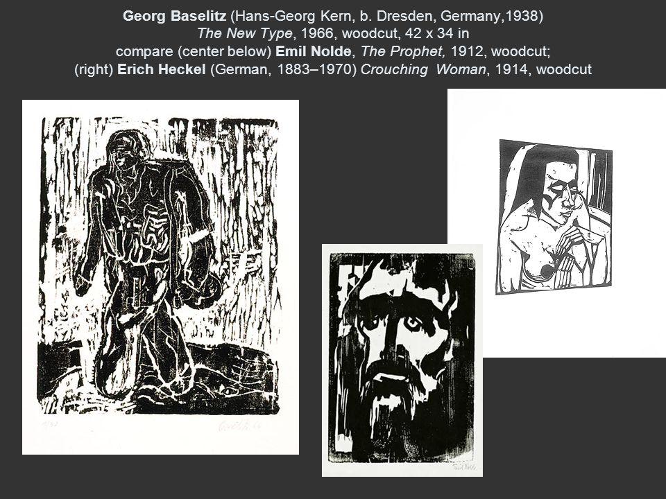 Georg Baselitz (Hans-Georg Kern, b