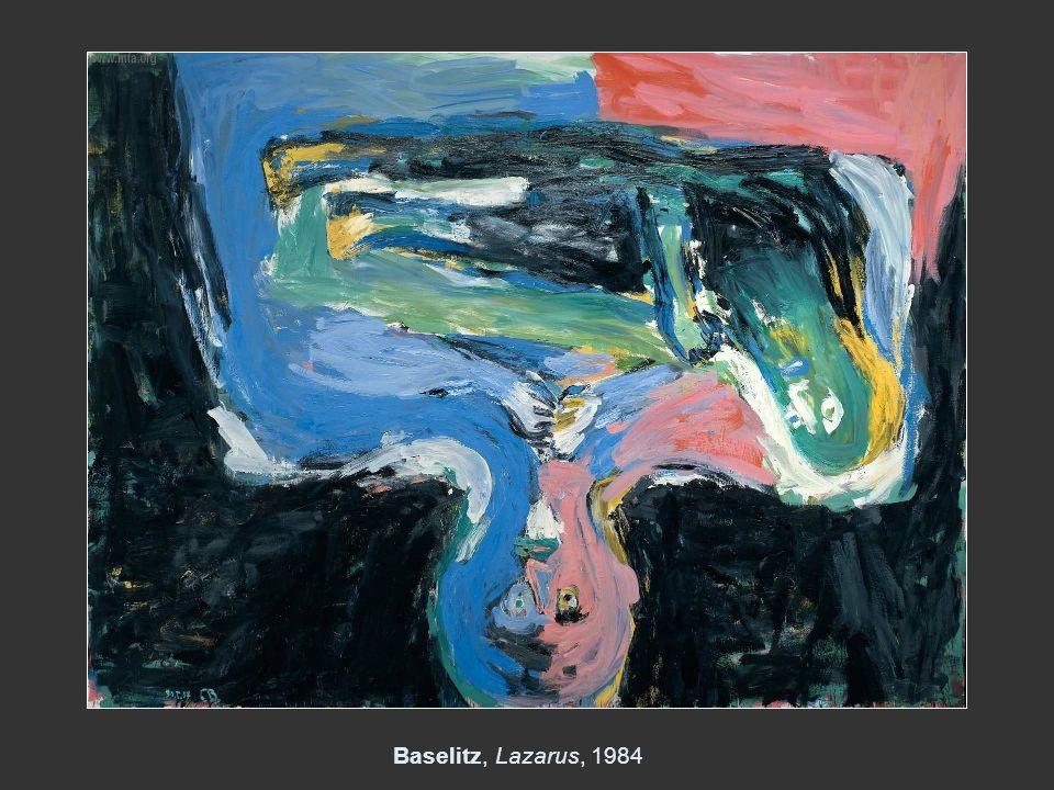 Baselitz, Lazarus, 1984
