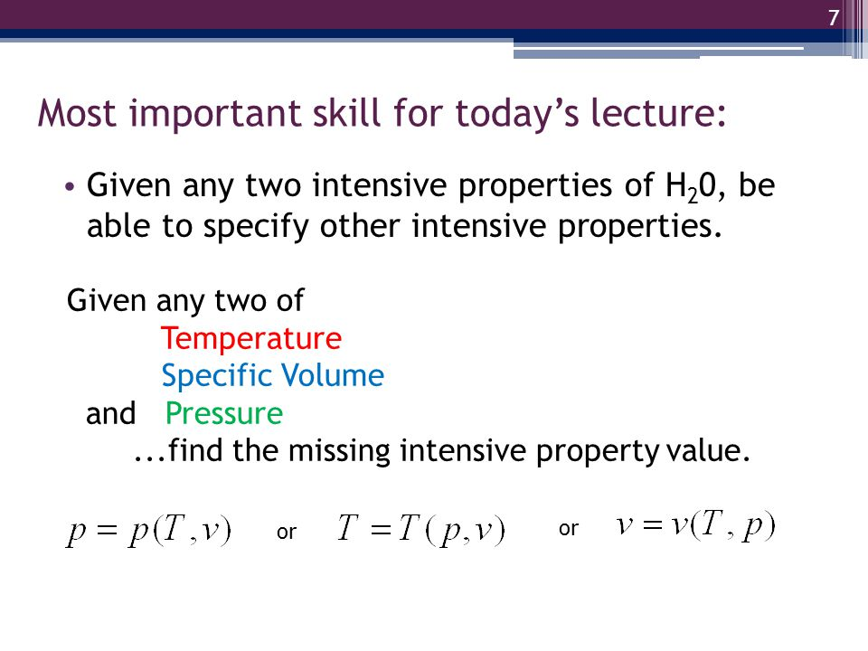 Most important skill for today's lecture: