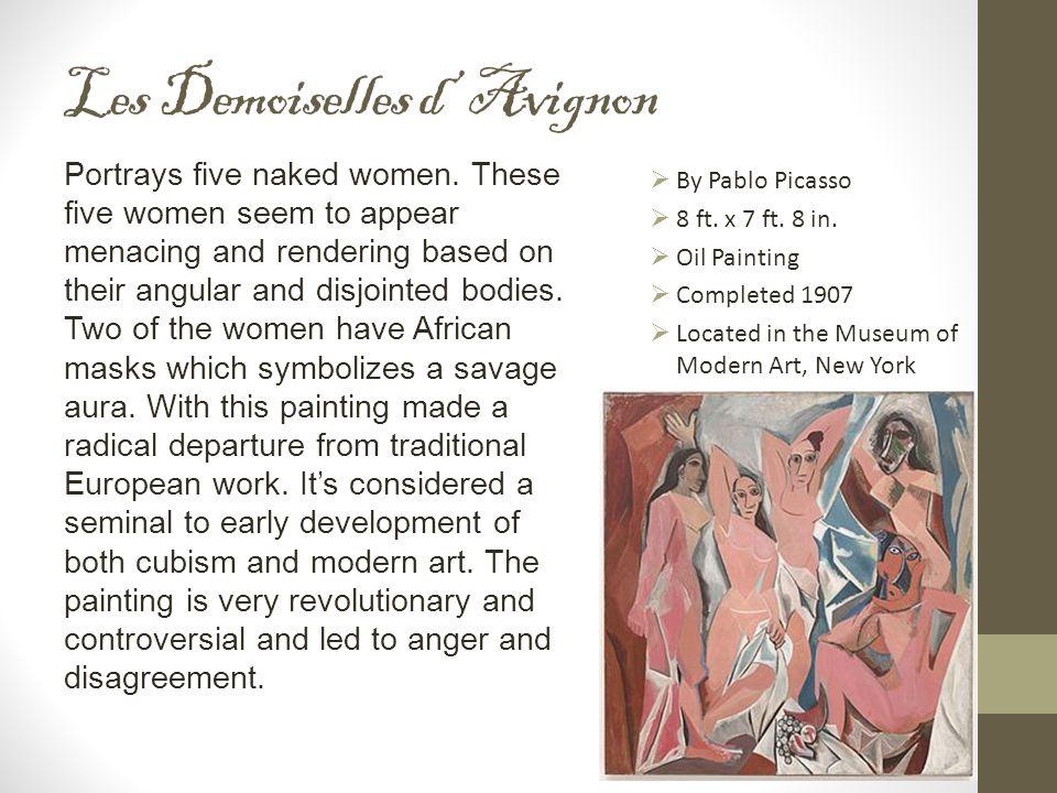 Les Demoiselles d' Avignon