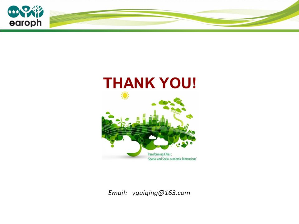 THANK YOU! Email: yguiqing@163.com