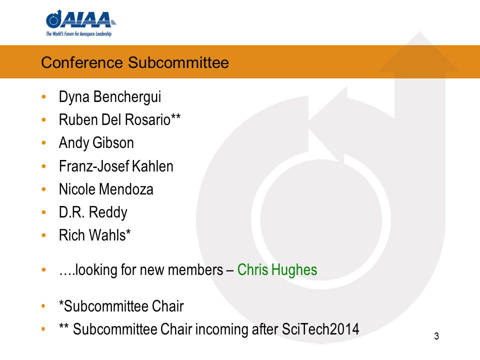 Conference Subcommittee