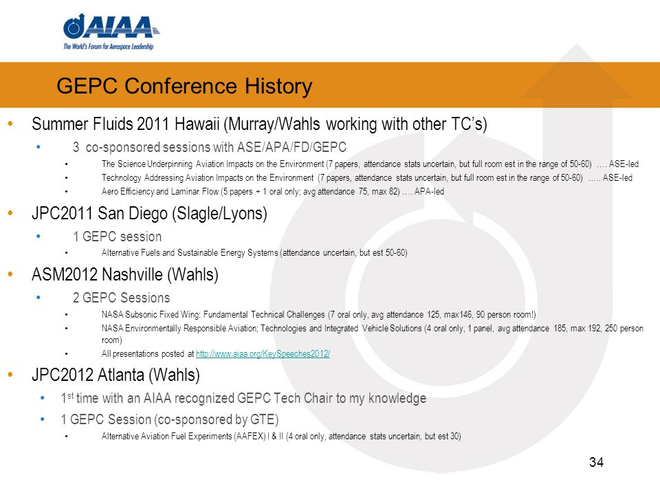 GEPC Conference History