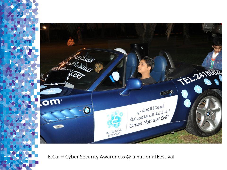 E.Car – Cyber Security Awareness @ a national Festival