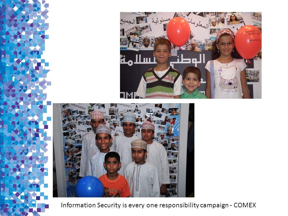 Information Security is every one responsibility campaign - COMEX