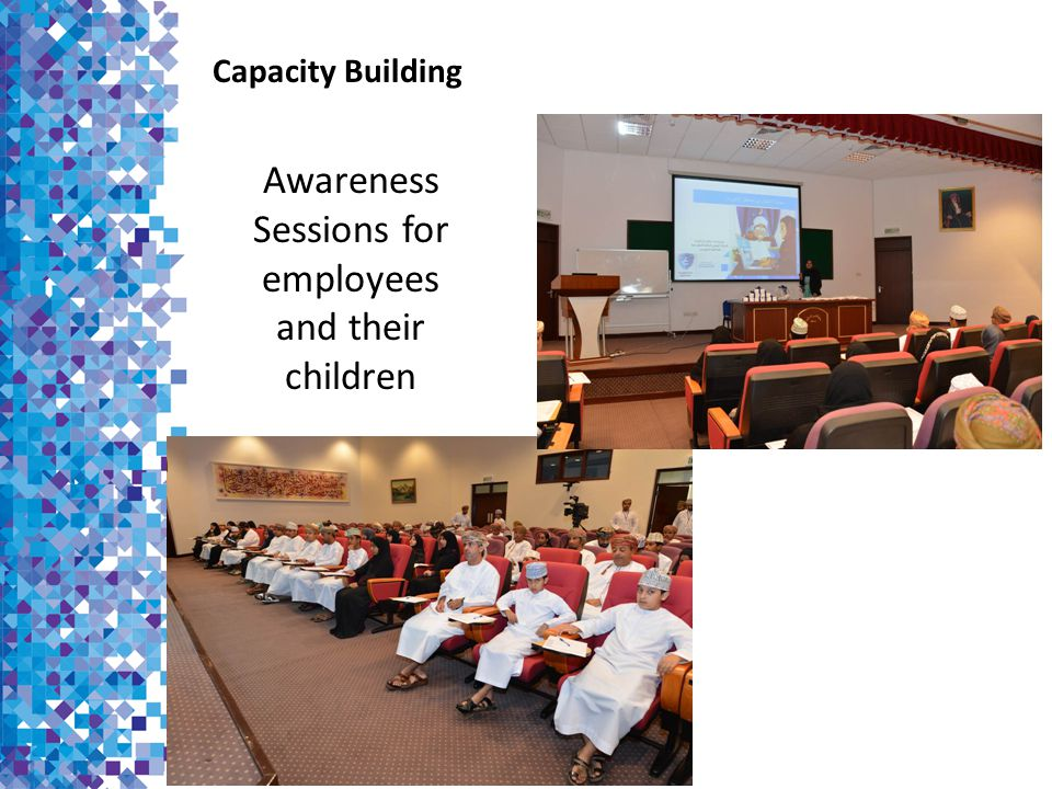 Awareness Sessions for employees and their children