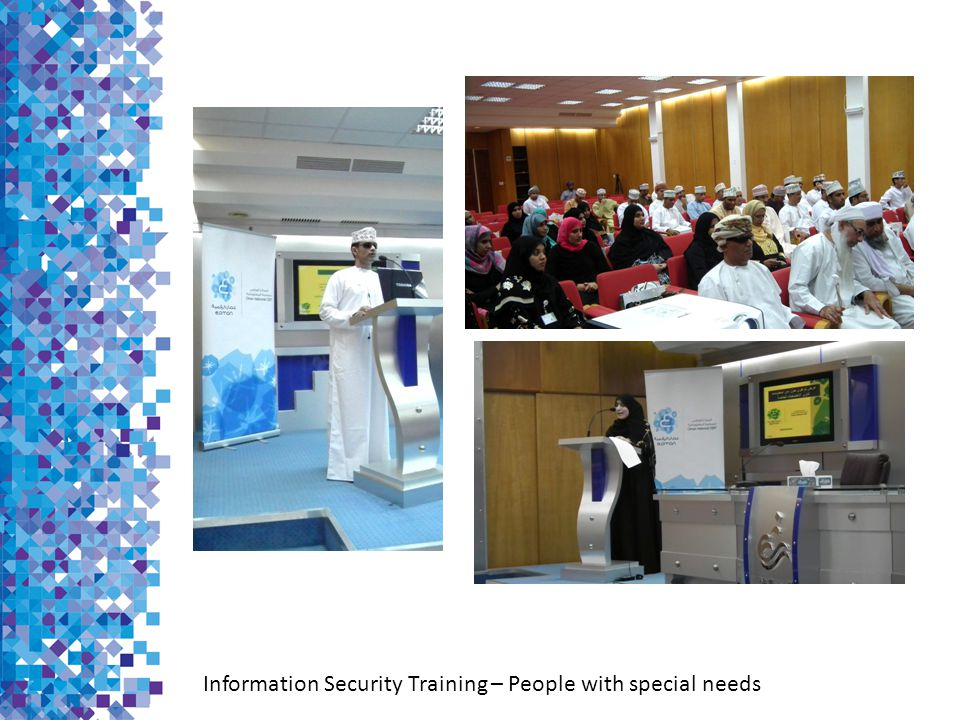 Information Security Training – People with special needs