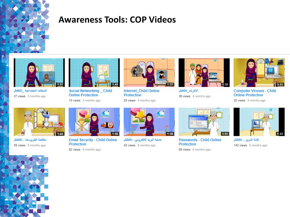 Awareness Tools: COP Videos