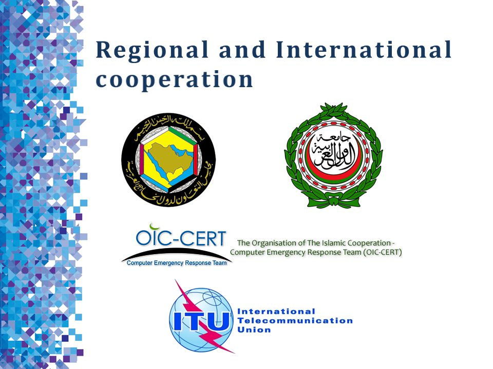 Regional and International cooperation