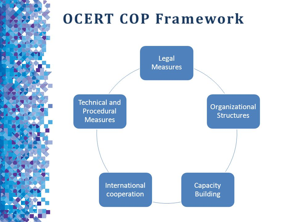 OCERT COP Framework Legal Measures Organizational Structures