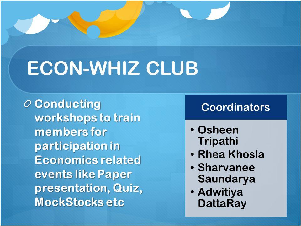 ECON-WHIZ CLUB