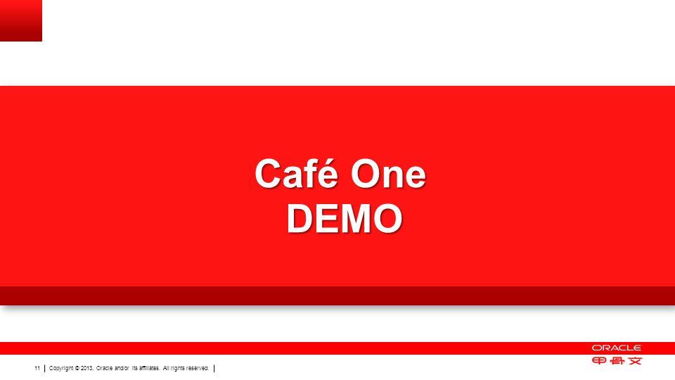 Café One DEMO Demo of Autosuggest, UDC dropdown, Café One and One View Watchlists 11