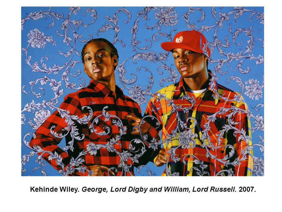 Kehinde Wiley. George, Lord Digby and William, Lord Russell. 2007.