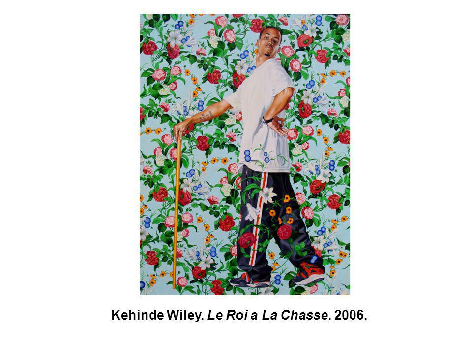 Kehinde Wiley. Le Roi a La Chasse. 2006.
