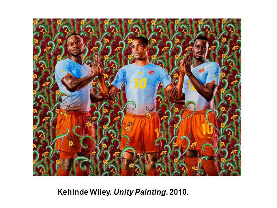 Kehinde Wiley. Unity Painting. 2010.