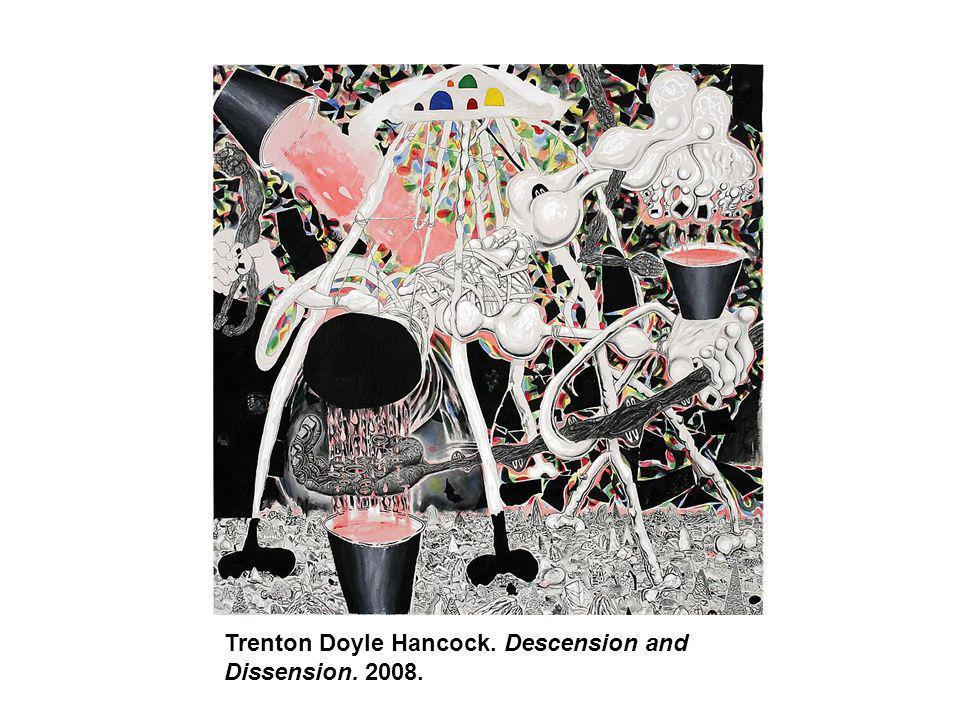 Trenton Doyle Hancock. Descension and Dissension. 2008.