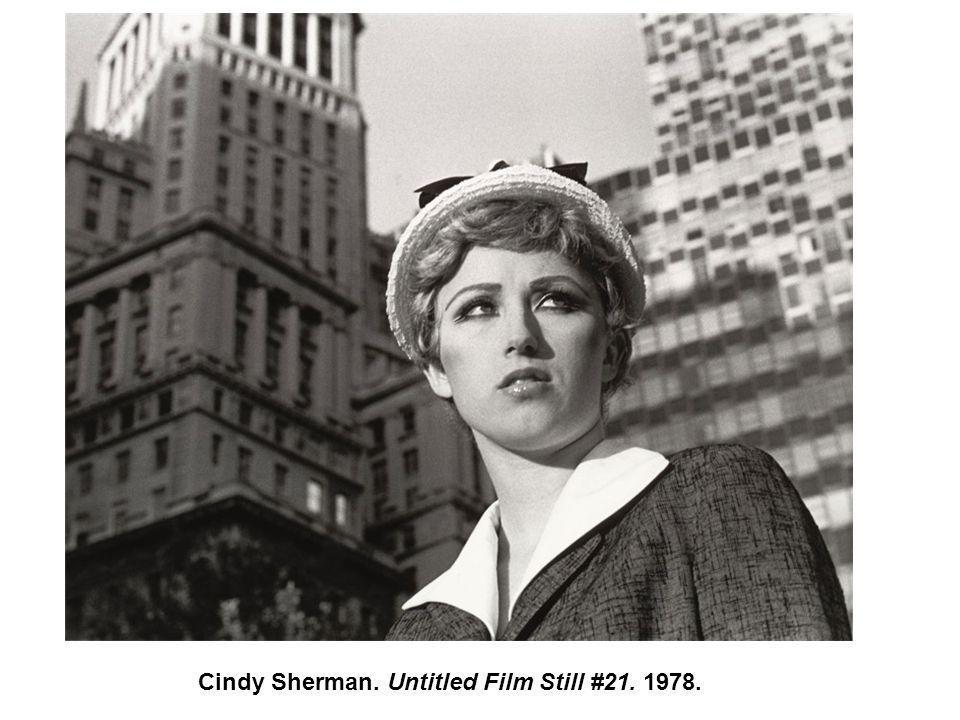 Cindy Sherman. Untitled Film Still #21. 1978.