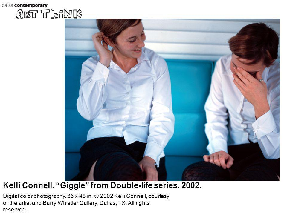 Kelli Connell. Giggle from Double-life series. 2002.
