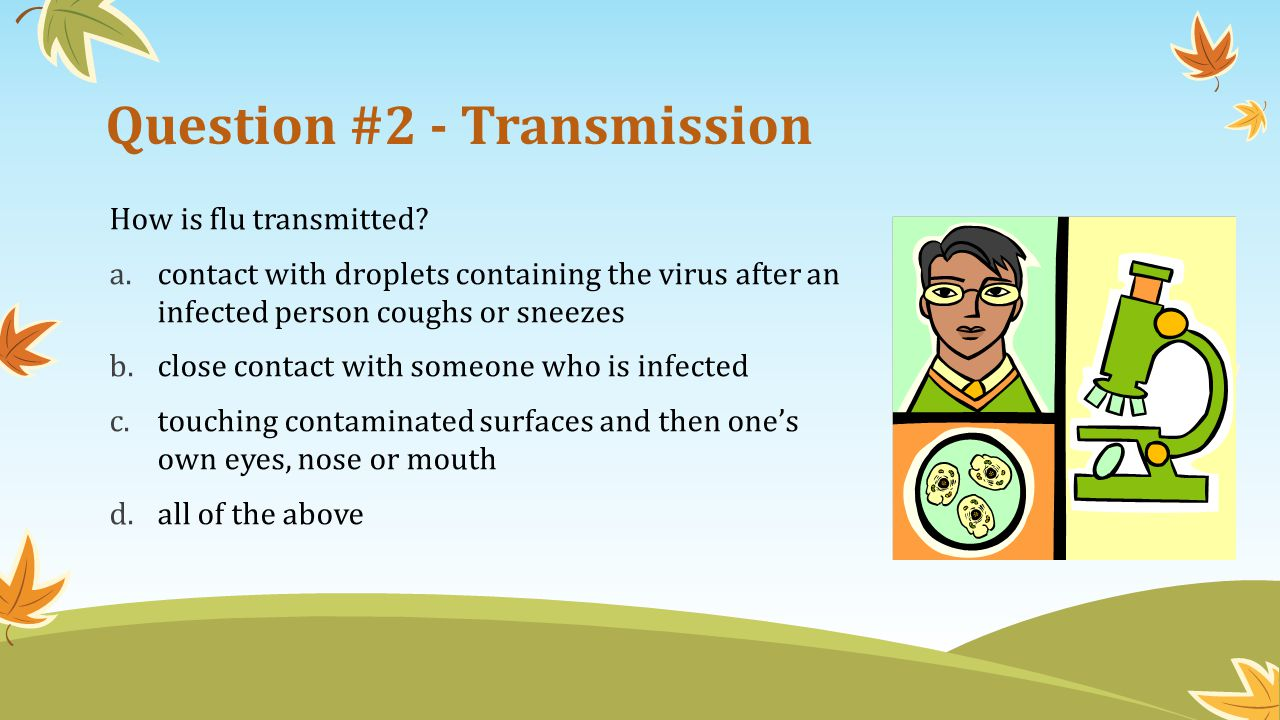 Question #2 - Transmission