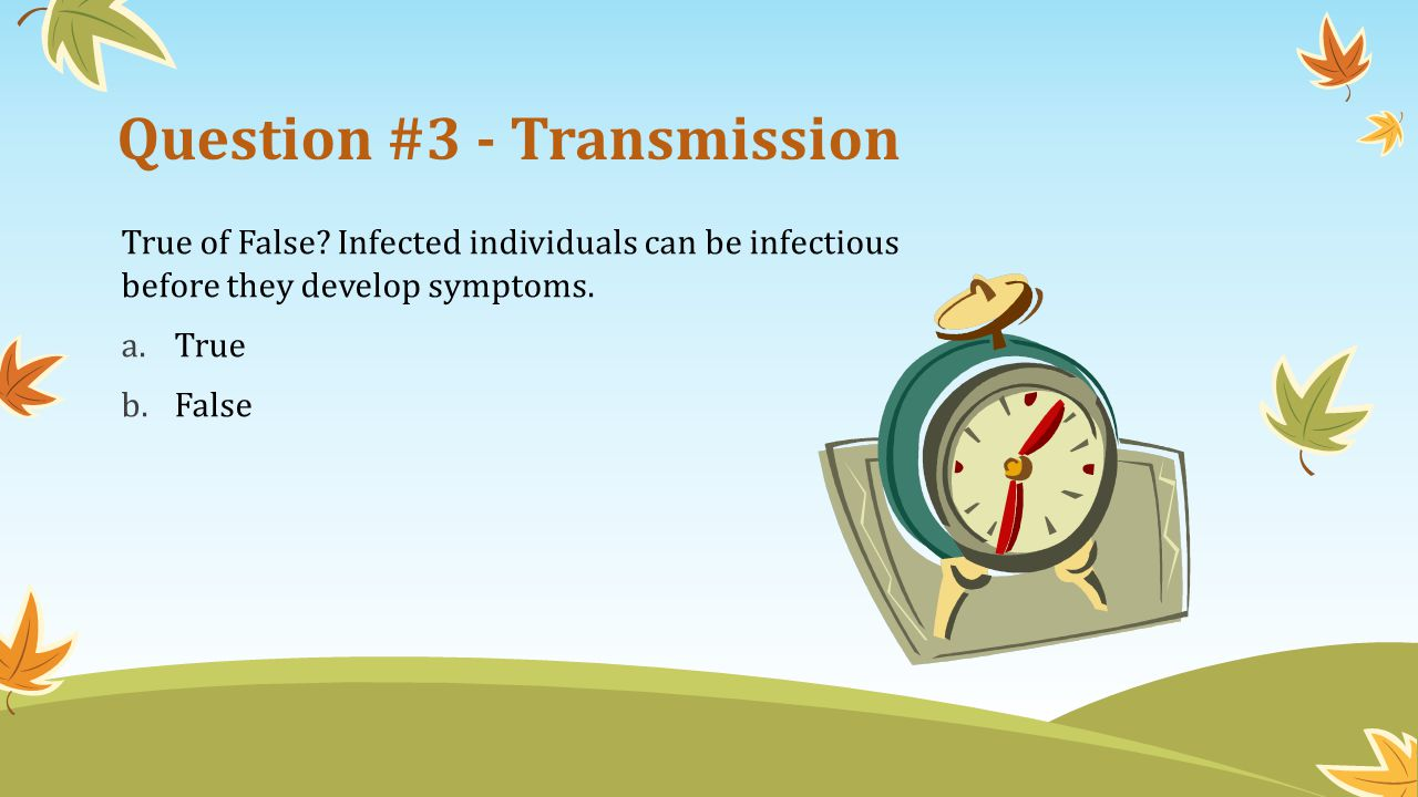 Question #3 - Transmission