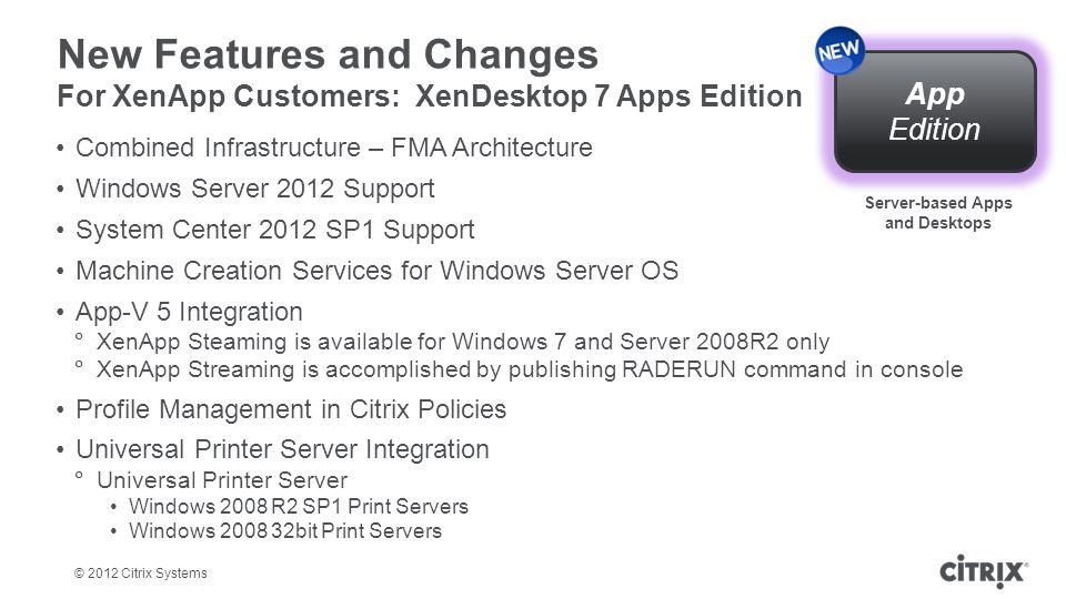 Server-based Apps and Desktops