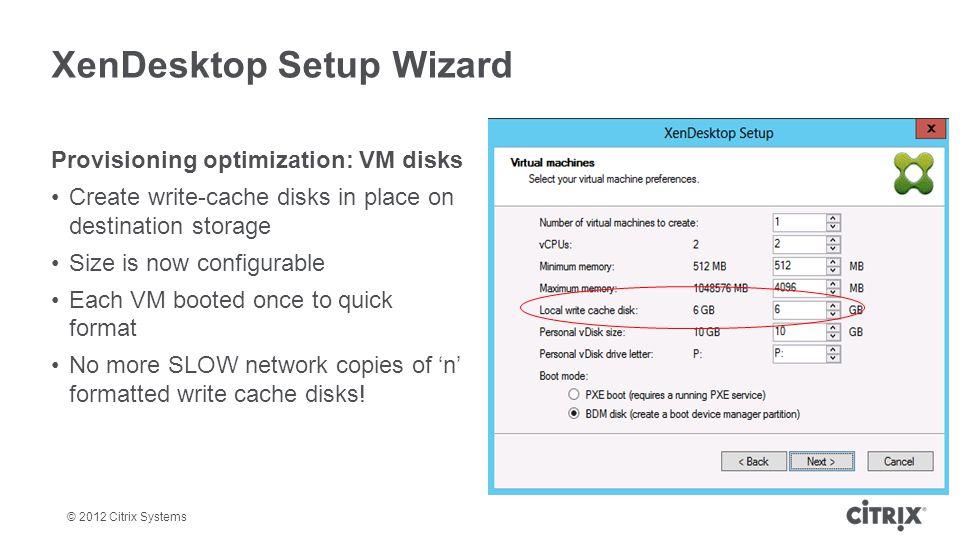 XenDesktop Setup Wizard