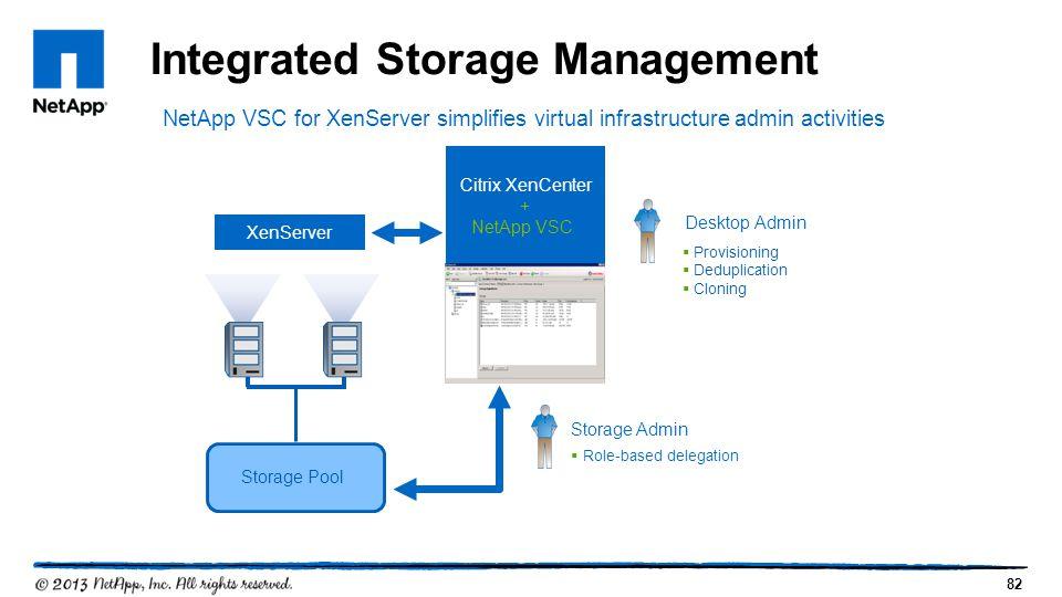 Citrix XenCenter + NetApp VSC