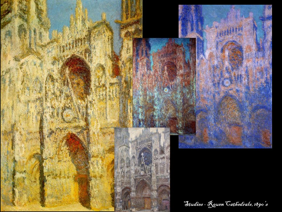 Studies - Rouen Cathedrals, 1890's