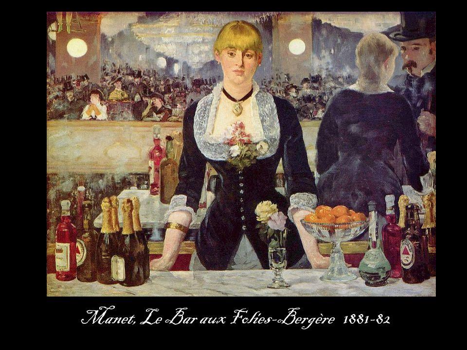 Manet, Le Bar aux Folies-Bergère 1881-82