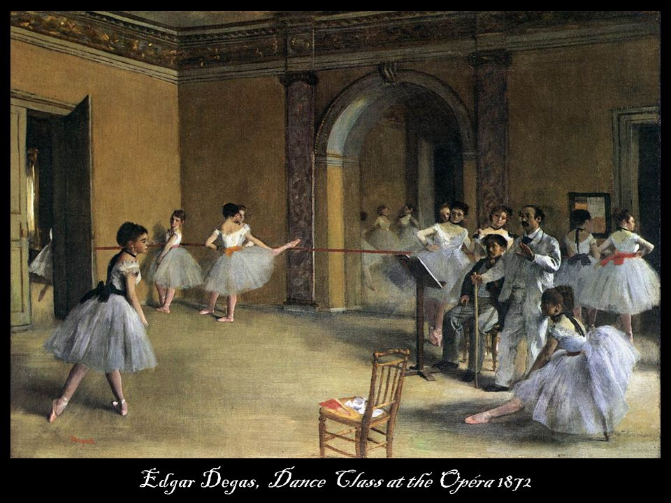 Edgar Degas, Dance Class at the Opéra 1872