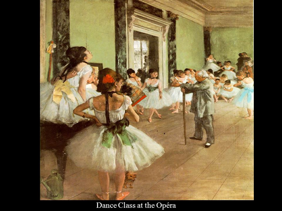 Dance Class at the Opéra