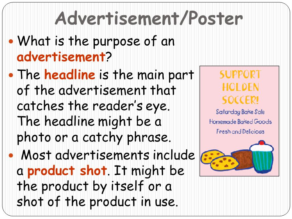 Advertisement/Poster