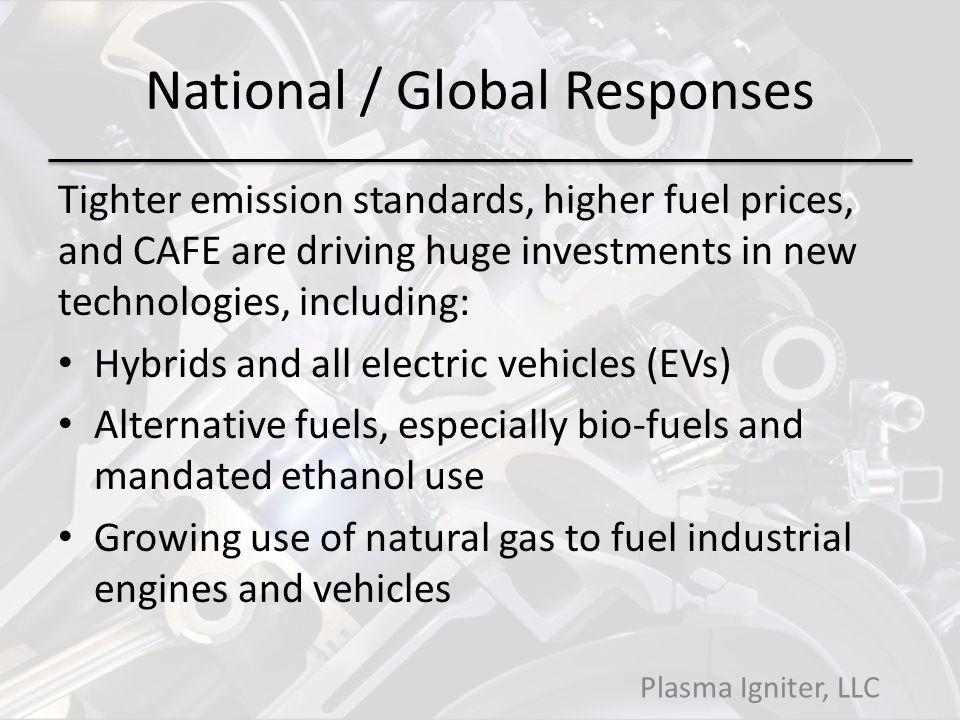National / Global Responses