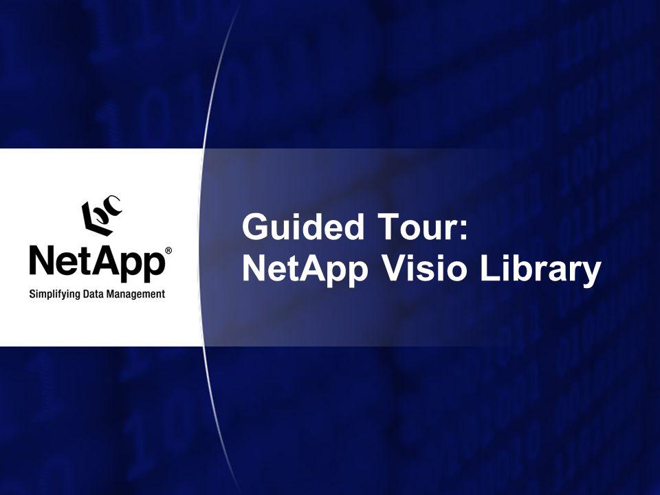 Guided Tour: NetApp Visio Library