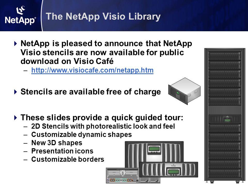 The NetApp Visio Library