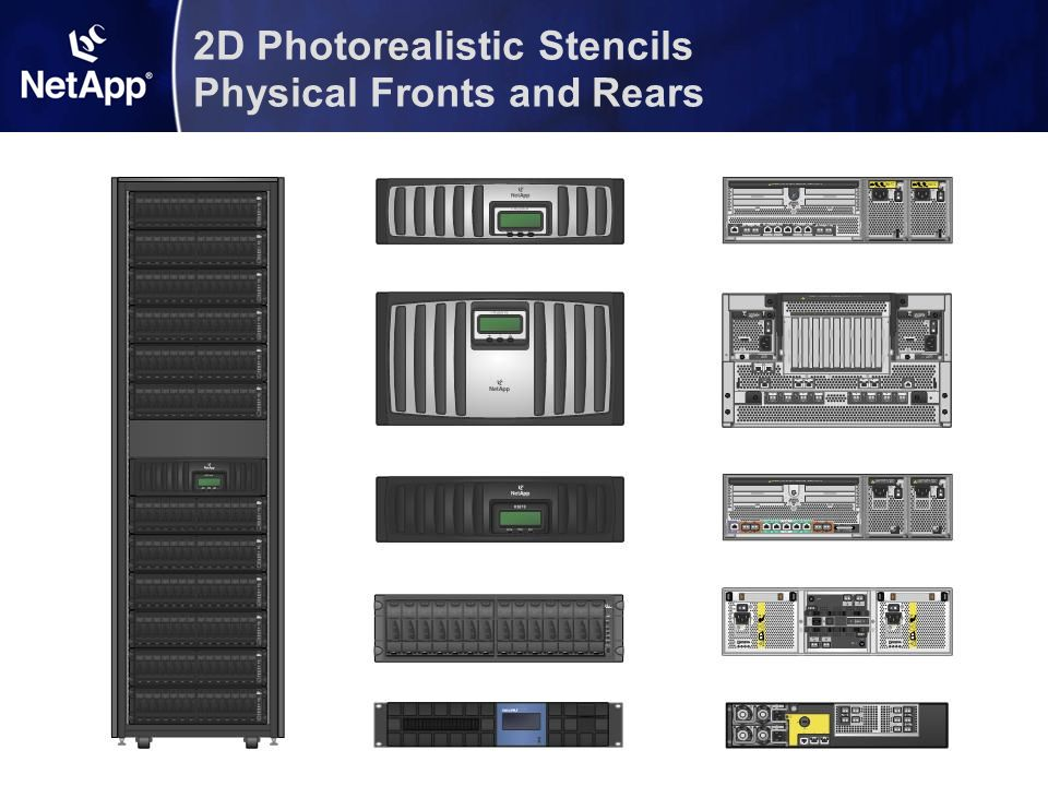 2D Photorealistic Stencils Physical Fronts and Rears