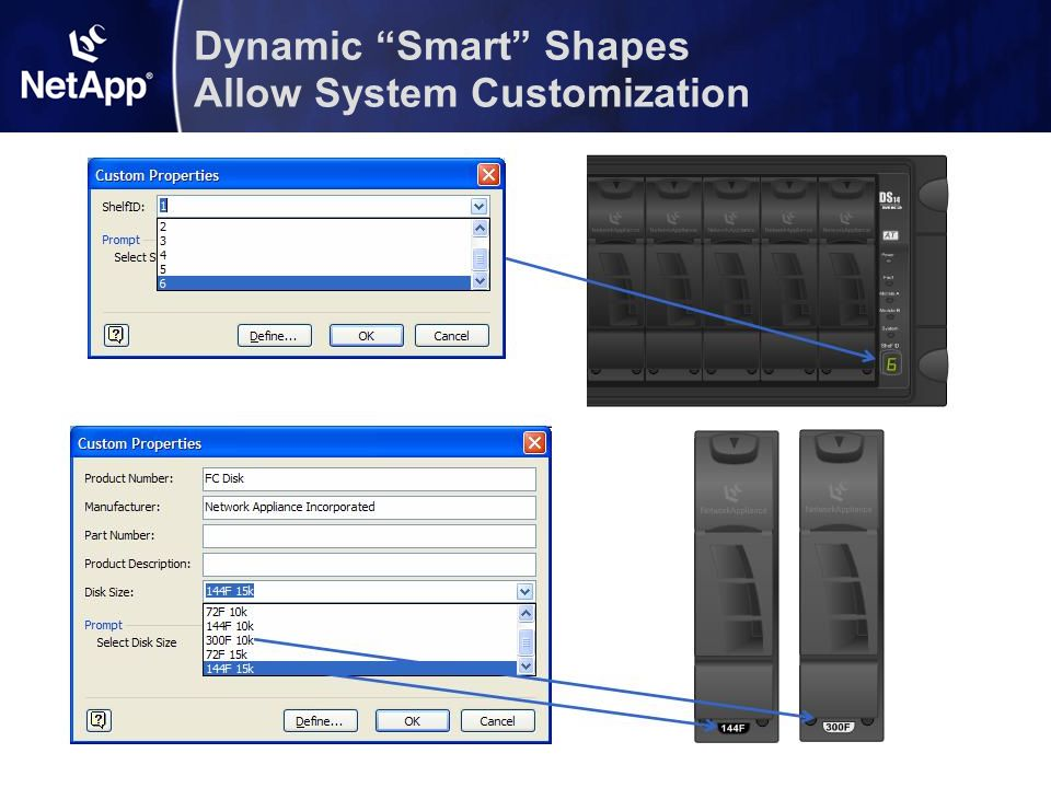 Dynamic Smart Shapes Allow System Customization