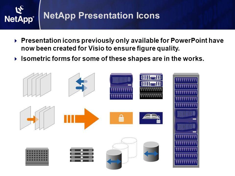 NetApp Presentation Icons