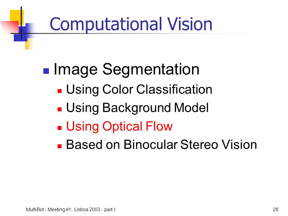 Computational Vision Image Segmentation Using Color Classification