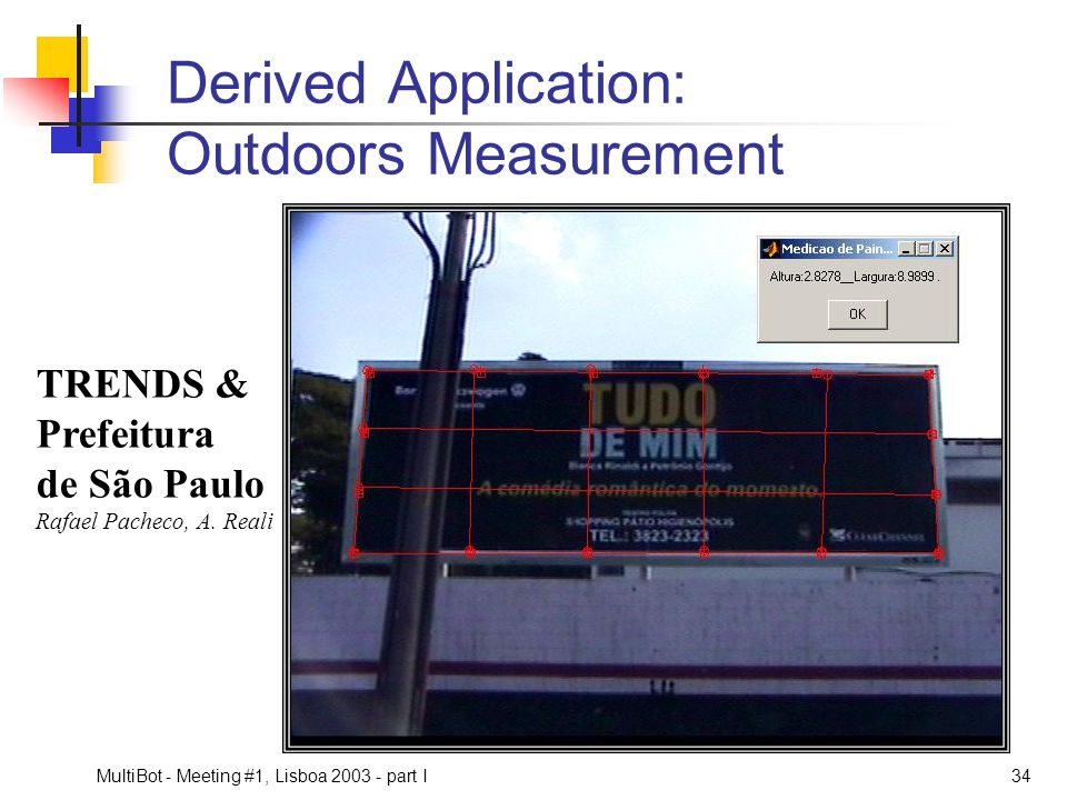 Derived Application: Outdoors Measurement