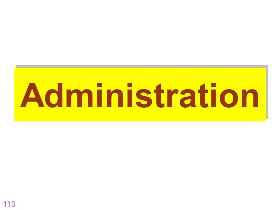 Administration AR-07-CP-16 AR-07-CP-16