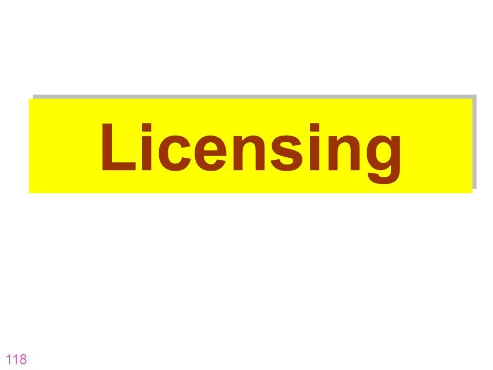 Licensing AR-07-CP-16 AR-07-CP-16 118