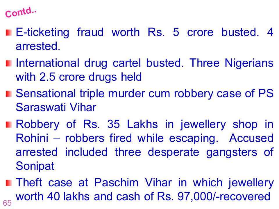 E-ticketing fraud worth Rs. 5 crore busted. 4 arrested.