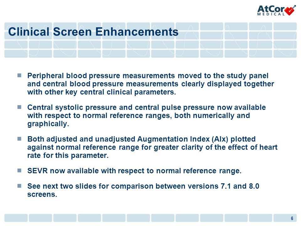 Clinical Screen Enhancements