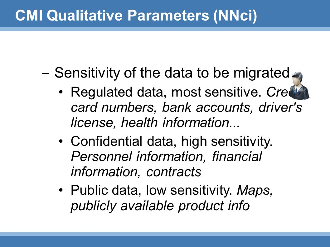 CMI Qualitative Parameters (NNci)