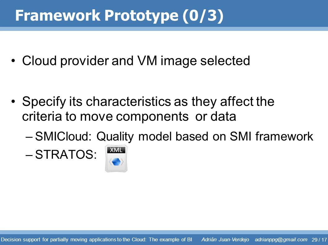 Framework Prototype (0/3)