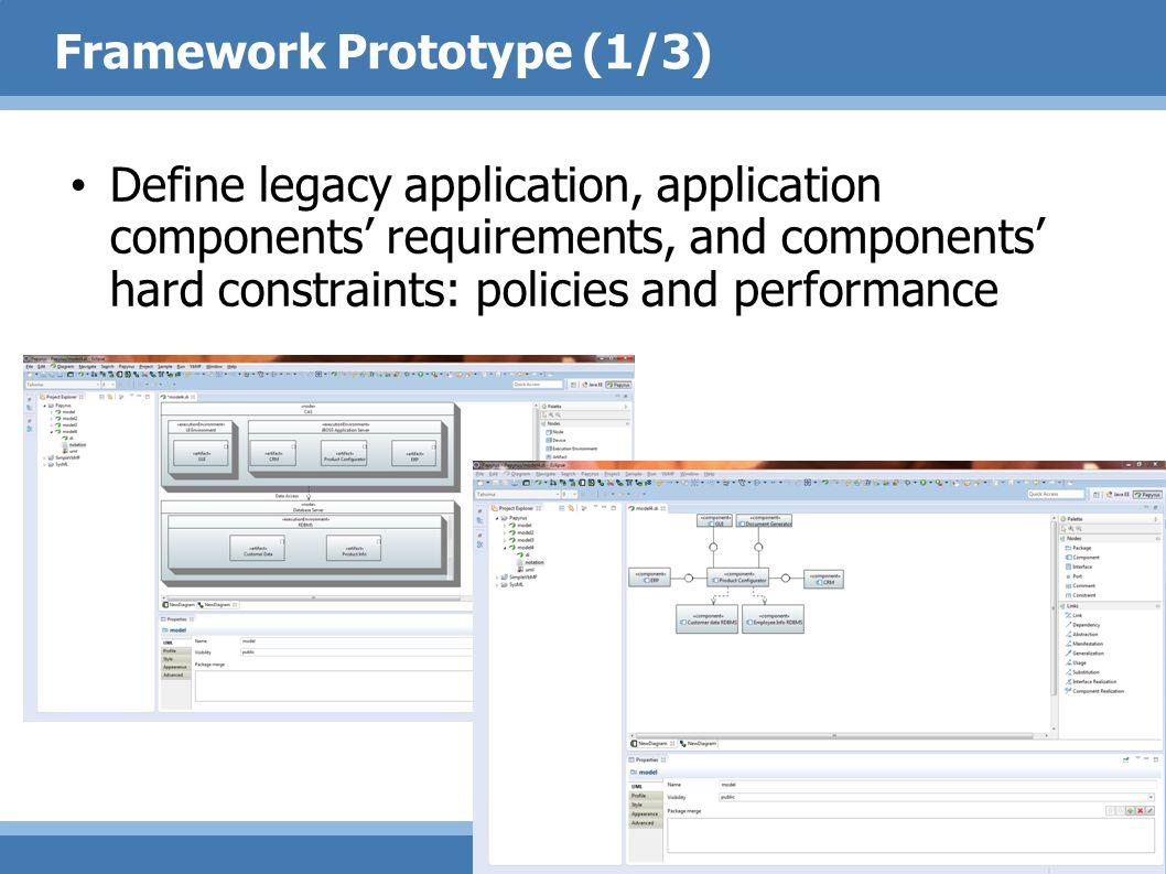 Framework Prototype (1/3)
